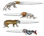 Ножи для бумаги из серебра Saturno