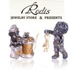 Коллекция серебряных статуэток Родис