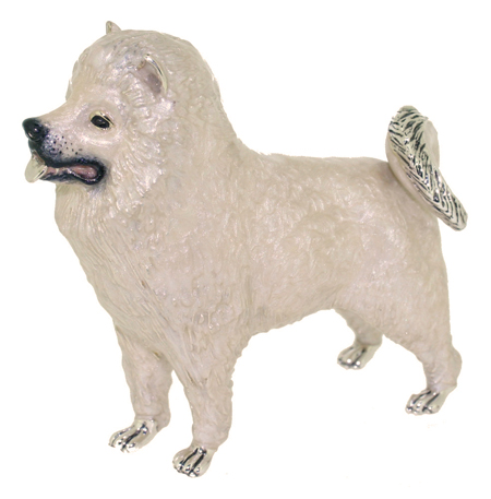 Собака породы Самоед ST585