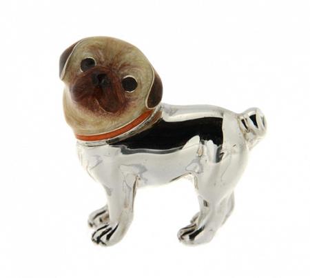 Статуэтка Собака породы Мопс малый ST266-2