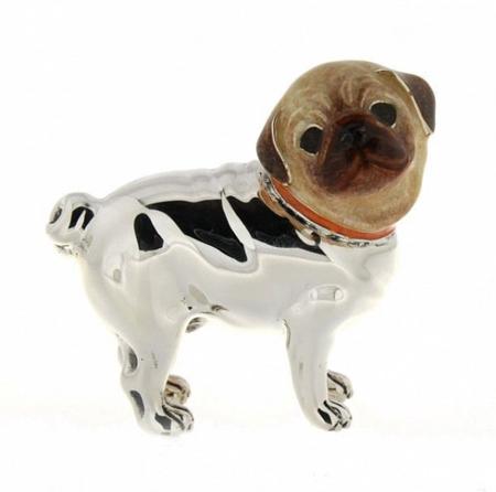 Статуэтка Собака породы Мопс большой ST266-1
