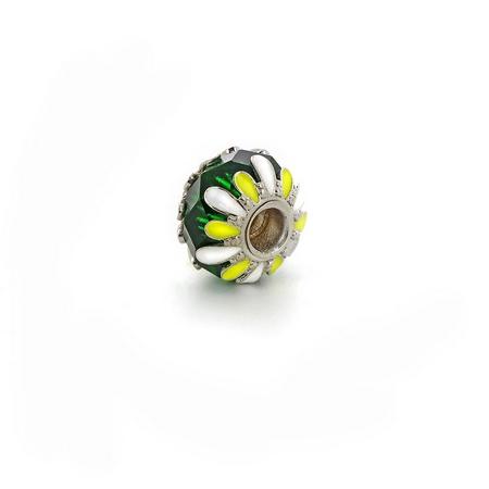 Подвеска-перлина «Зеленый луг» 06-32 Pd008