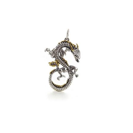 Подвеска-перлина «Знак бесконечности» 03-0084