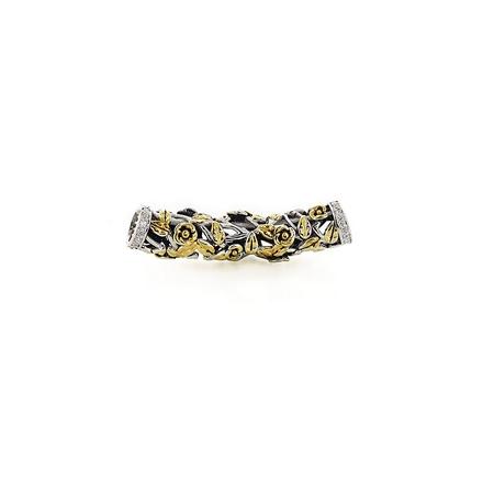 Подвеска-перлина «Золотой шиповник» 05-0289