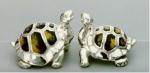Две Черепахи серебро  ST11.