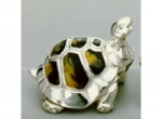 Черепаха большая серебро  ST11-1