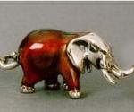 Слон средний серебро ST29-2