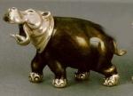 Бегемот большой серебро ST30-1