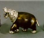 Бегемот средний серебро ST30-2