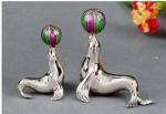Статуэтки из серебра Морские Котики ST33