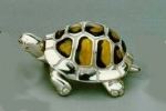 Черепаха средняя серебро с эмалью ST36-2