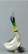 Утка средняя серебро ST37-2