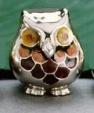 Сова средняя серебро ST42-2
