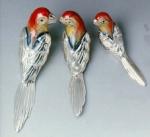 Попугаи серебро ST45