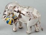 Слон с мячом большой ST88-1