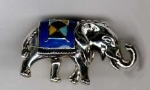 Слон малый серебро ST135-3