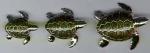 Черепахи серебро ST197