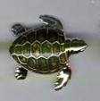Черепаха средняя серебро ST197-2