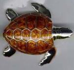 Черепаха средняя серебро ST198-2
