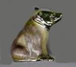 Медведь бурый малый серебро ST220-3