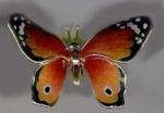 Статуэтка Бабочка большая серебро ST269-1