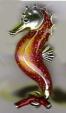 Морской конек средний серебро ST278-2