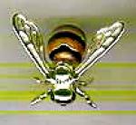 Пчела с эмалью малая ST289-3.