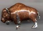 Бизон средний серебро ST477-2