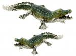 Пара крокодилов серебро ST310