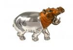 Бегемот из серебра малый ST145-2