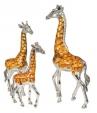 Три жирафа серебро ST68
