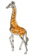 Жираф большой серебро ST68-1