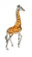 Жираф средний серебро ST68-2