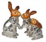 Три Зайца серебро ST131