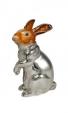 Заяц средний серебро ST131-2