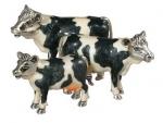 Три Коровы из серебра ST108