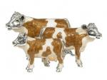Три Коровы из серебра ST108A