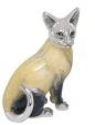 Кошка малая из серебра ST113-2