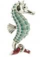 Морской конек большой серебро ST156-1