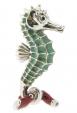 Морской конек средний серебро ST156-2