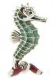 Морской конек малый серебро ST156-3