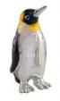 Пингвин малый серебро с эмалью ST154-4