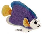 Рыбка большая серебро с эмалью ST227-1