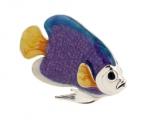 Рыбка средняя серебро с эмалью ST227-2
