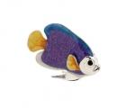 Рыбка малая серебро с эмалью ST227-3