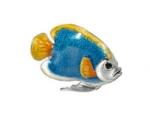 Рыбка малая серебро с эмалью ST227A-3