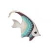 Рыбка малая серебро с эмалью ST32B-3