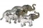 Слоны серебро ST241