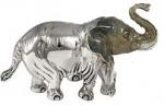 Слон большой серебро ST241-1
