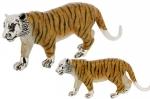 Два Тигра серебро ST309